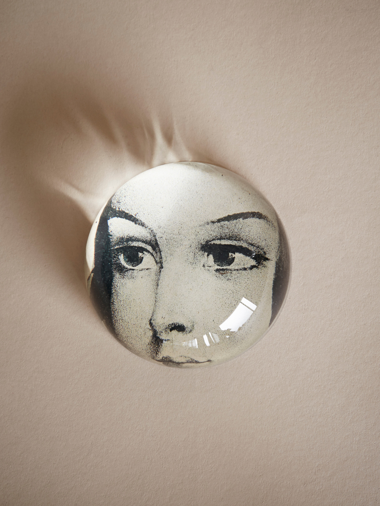 John Derian - Ellen's Eyes Dome Paperweight