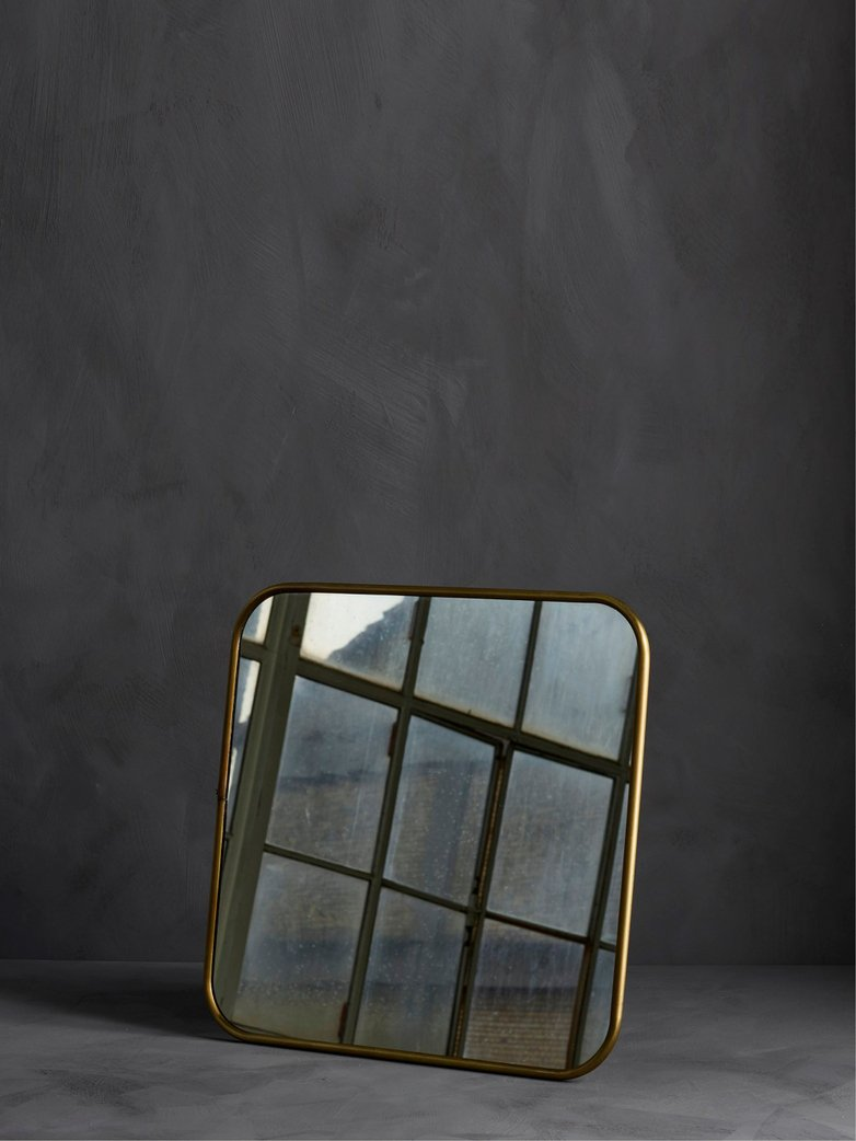 Reflect Mirror – Brass – Small