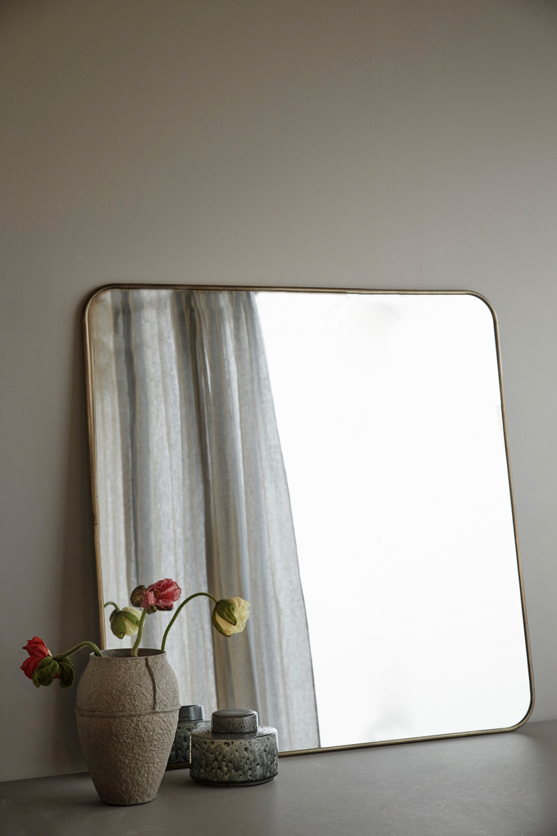 Reflect Mirror – Brass – Large