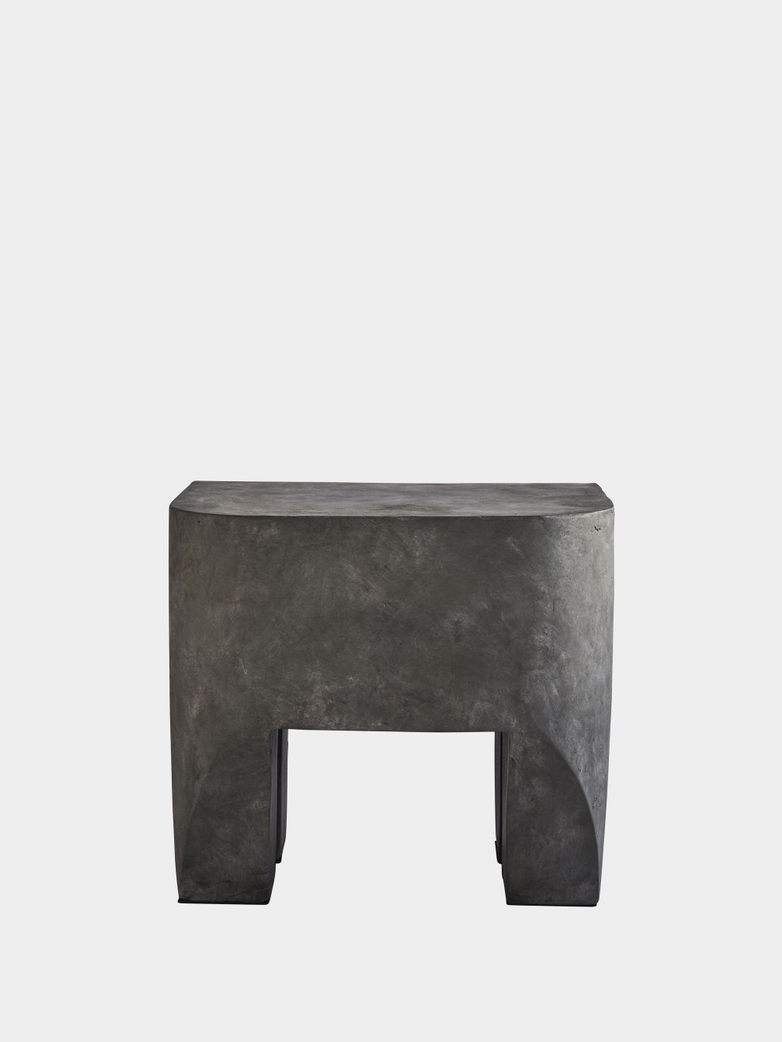 Sculpt Stool Concrete