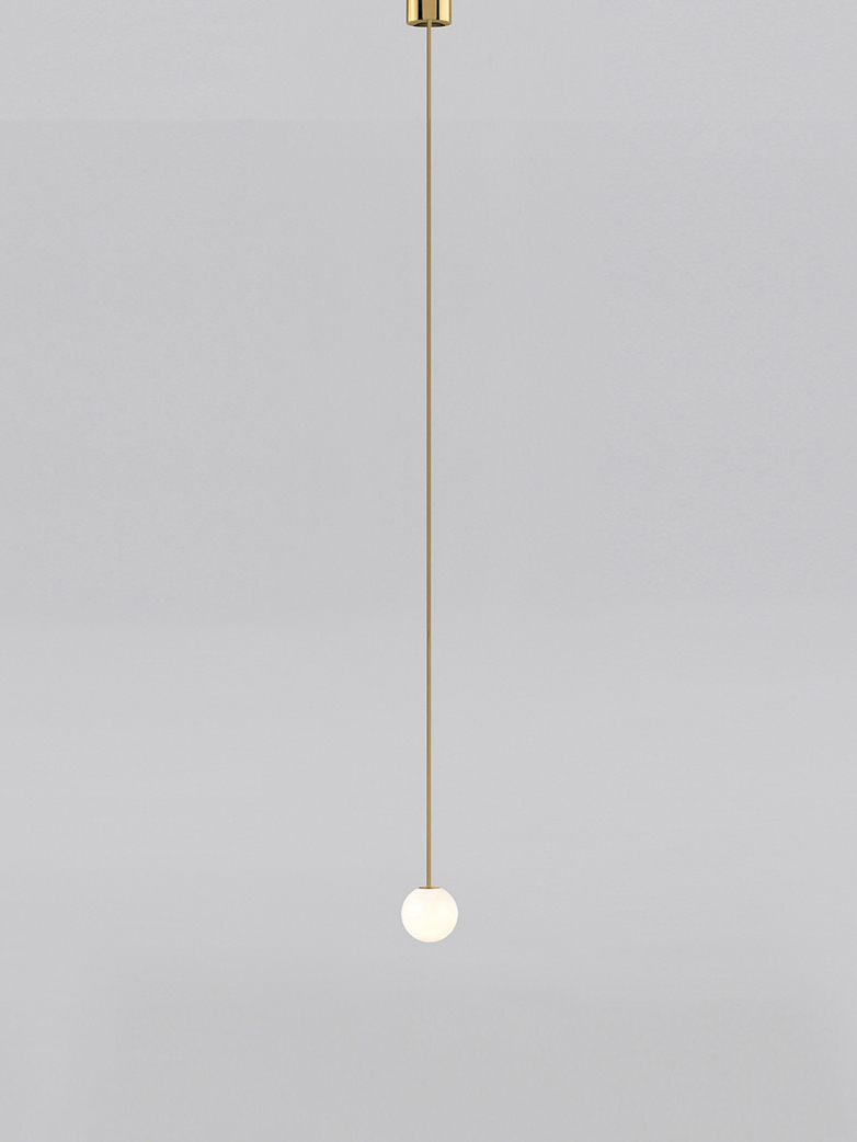 Pendant 80 - Polished Brass