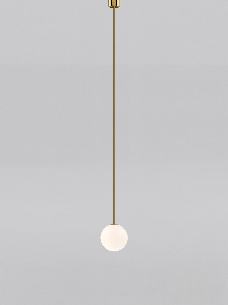 Pendant 150 - Polished Brass
