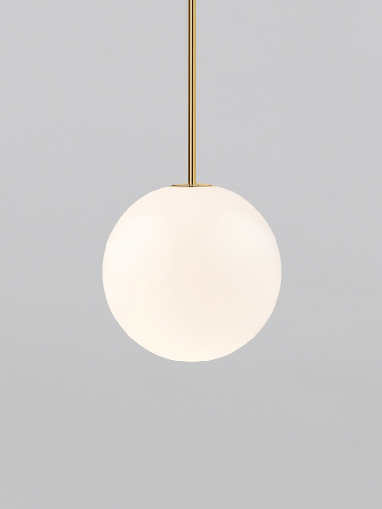 Pendant 250 - Polished Brass
