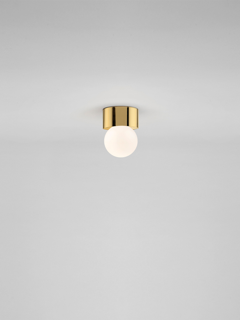 Sconce 60 Ceiling & Wall Mounted - Polished Brass