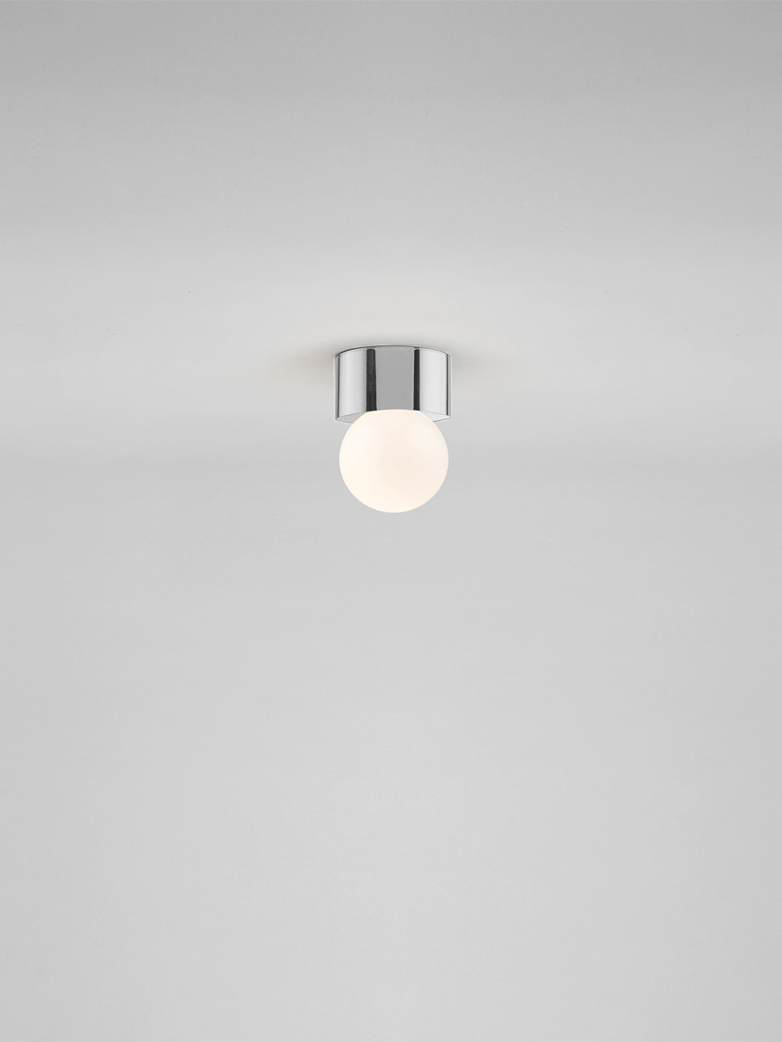 Sconce 60 Ceiling & Wall Mounted - Polished Nickel-plated Brass