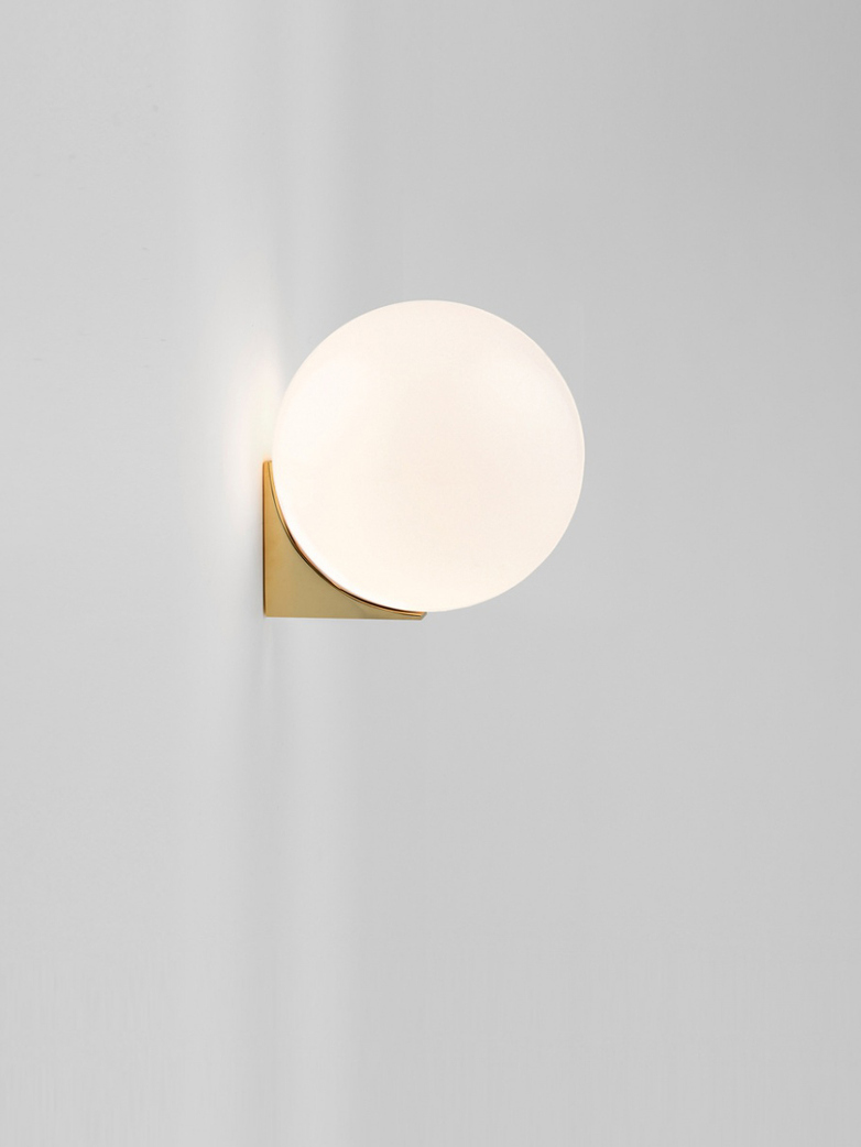 Single Sconce 150 Wall Mounted - Polished Brass