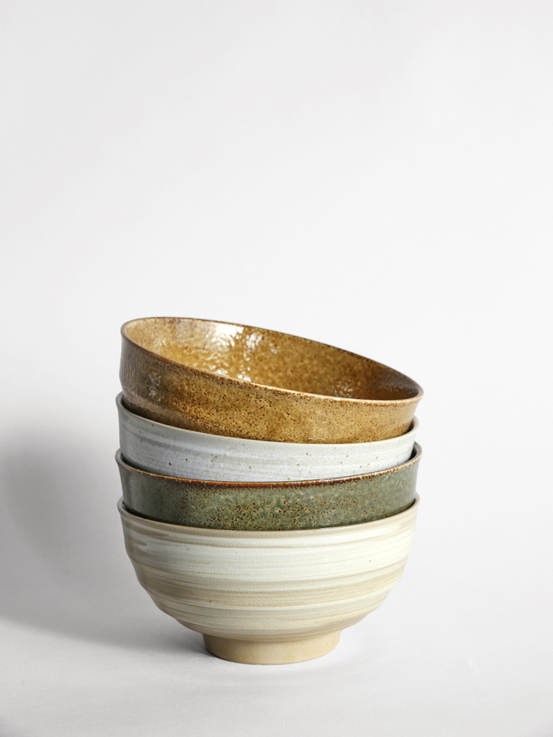 Kyoto Japanese Noodle Bowl - Set of 4