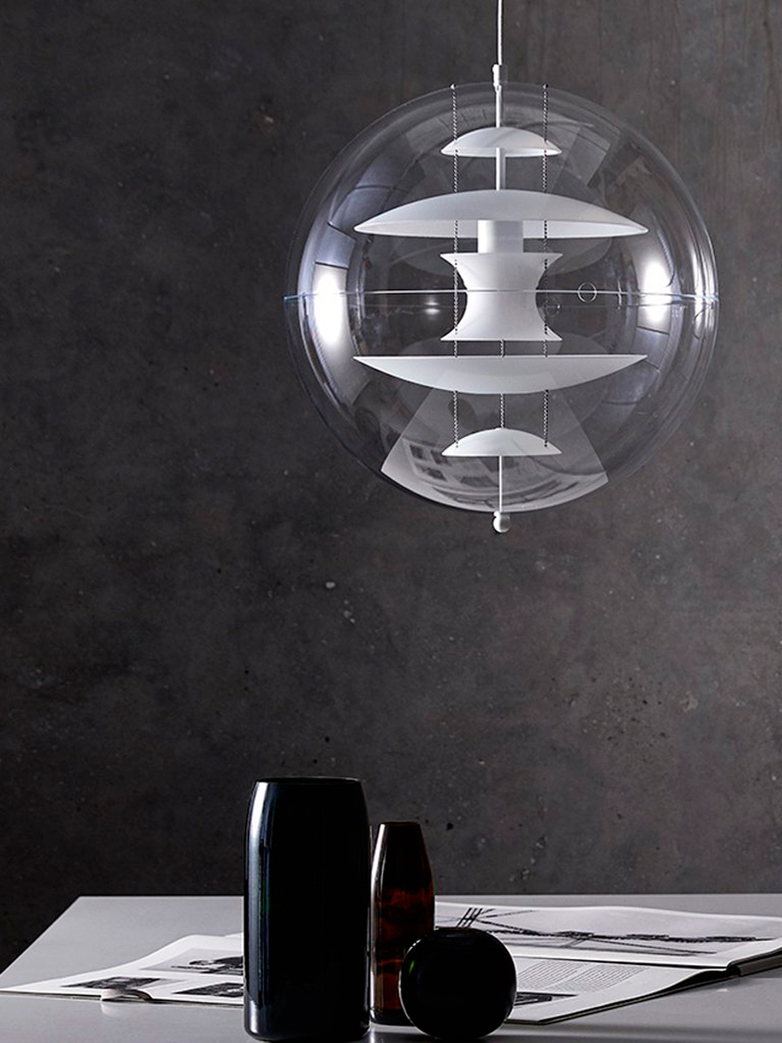 Globe Glass Pendant – Large