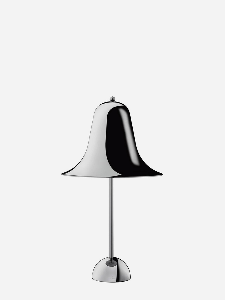 Pantop Table Lamp – Chrome/Black Chrome