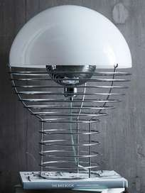 Wire Table Lamp – Small – White
