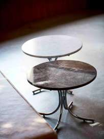 Modular Table - Brown Marble