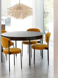 430 Series Dining Table – White – 120 cm