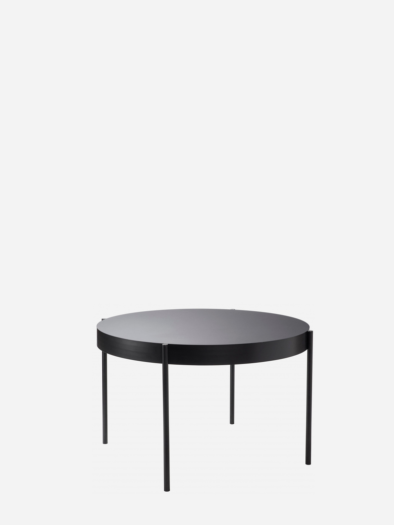 430 Series Dining Table – Black – 120 cm