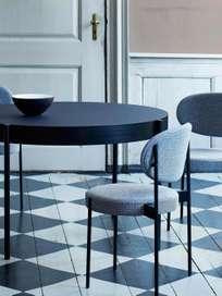 430 Series Dining Table – Black – 120 cm