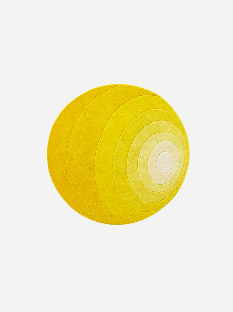 Luna Rug - Yellow