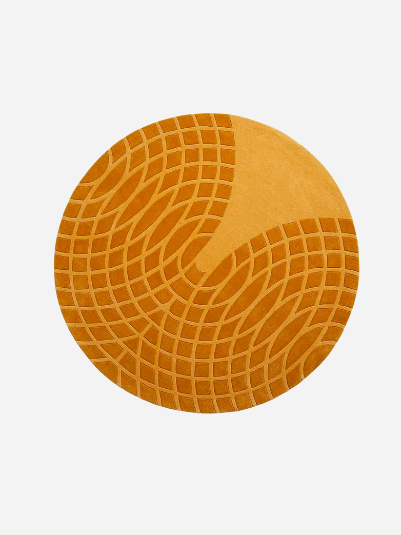 Panton Grande Rug - Yellow