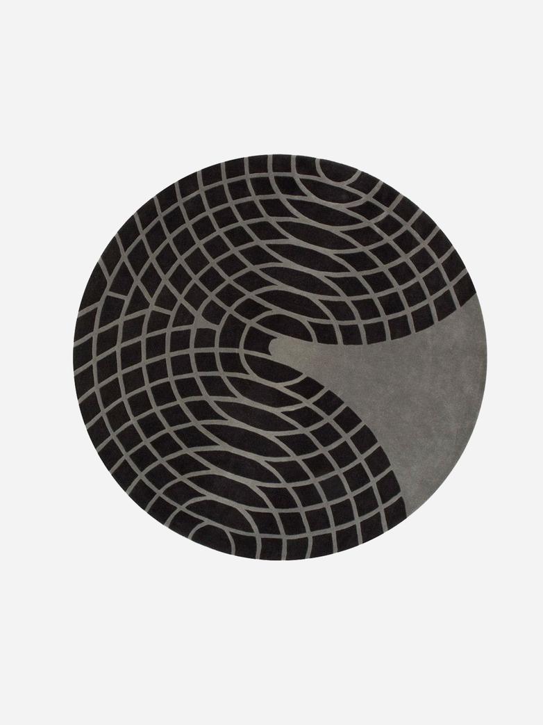 Panton Grande Rug - Grey