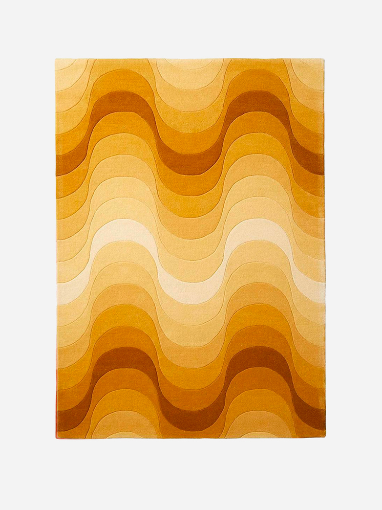 Wave Rug - Yellow