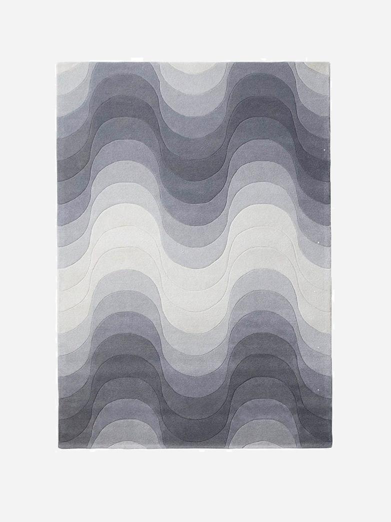 Wave Rug - Grey