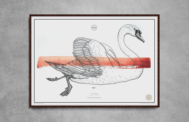 Le Cygne No.6 – Red