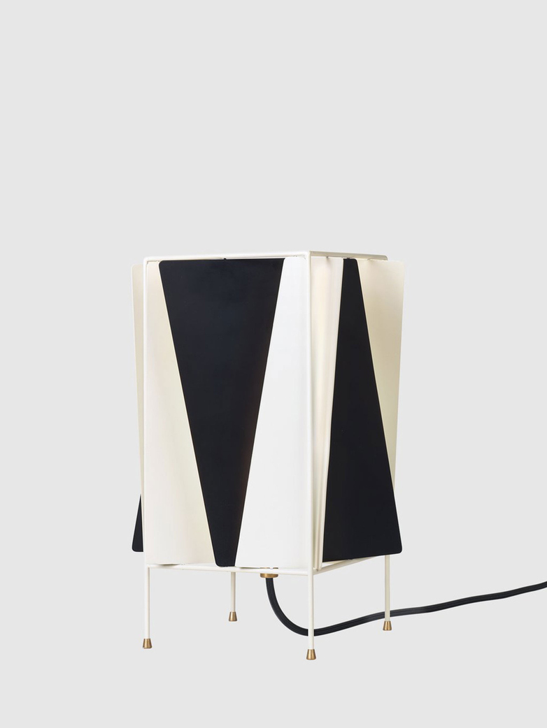 B-4 Table Lamp – Black & White
