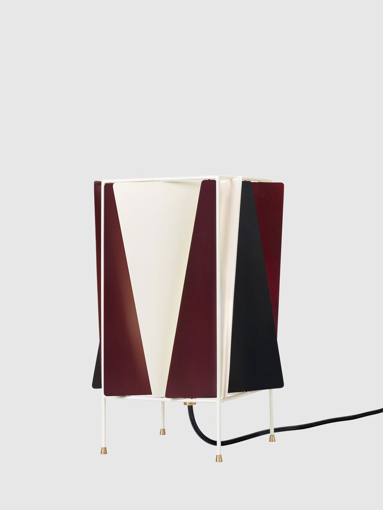 B-4 Table Lamp – Chianti Red