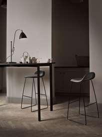 Bestlite BL1 Table Lamp – Chrome base – Black