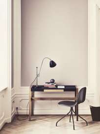 Bestlite BL1 Table Lamp – Chrome base – Bone China White