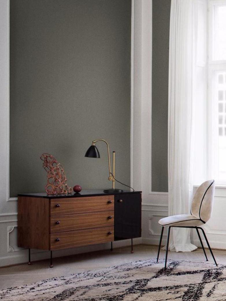 Bestlite BL1 Table Lamp – Brass Base - Black