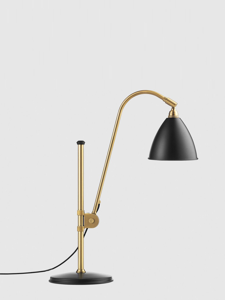 Bestlite BL1 Table Lamp – Brass Base - Black
