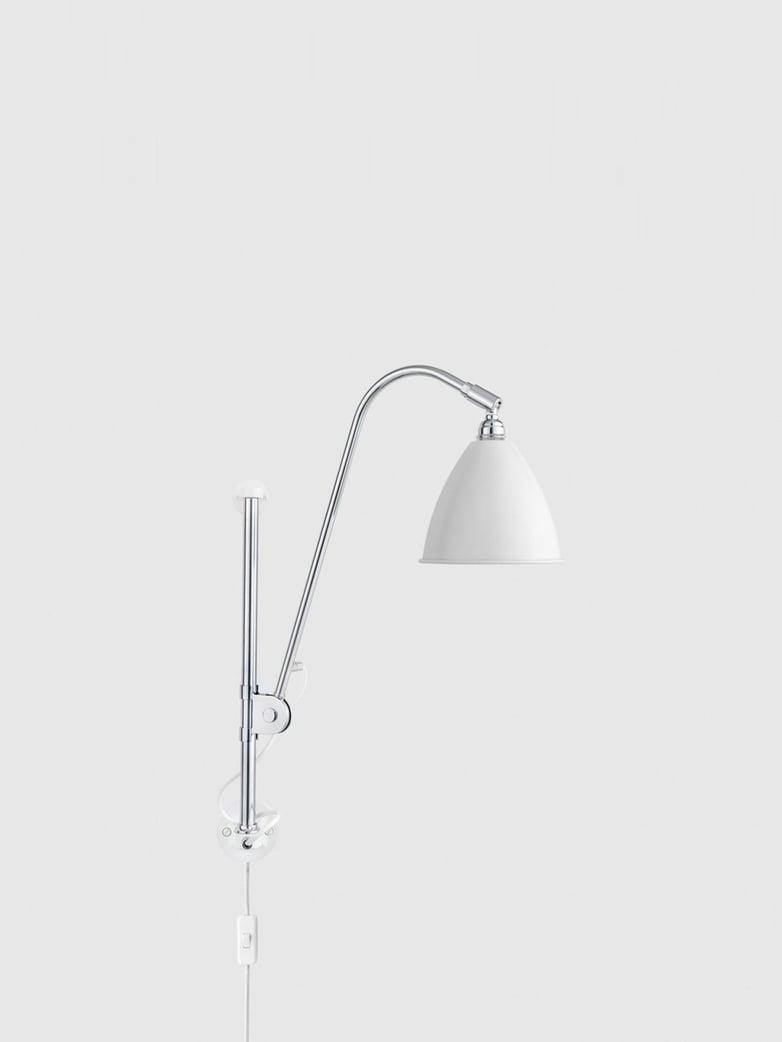 BL5 Wall Lamp – Chrome Base – White