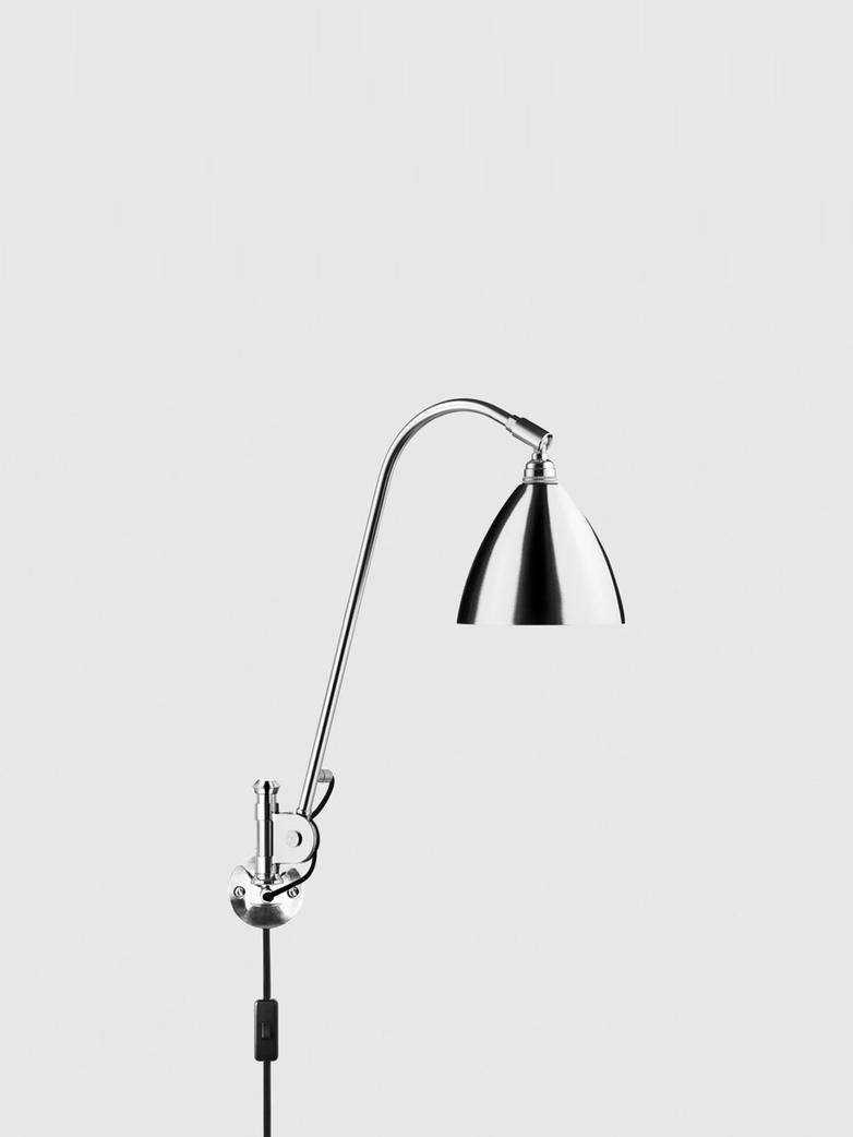 BL6 Wall Lamp - Ø16 - Chrome bass - Chrome