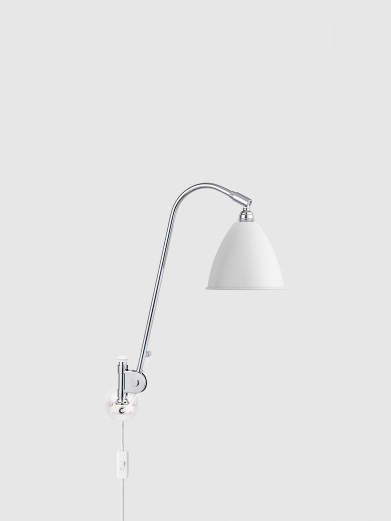 BL6 Wall Lamp – Chrome base – White