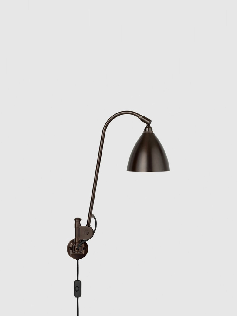 Bestlite BL6 Wall Lamp – Black Brass Base – Black Brass Finish