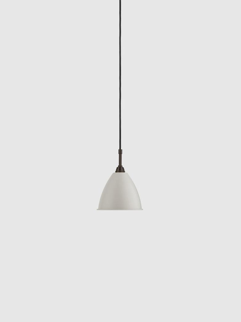Bestlite BL9 Pendant – Black Brass Base - Classic White – Small