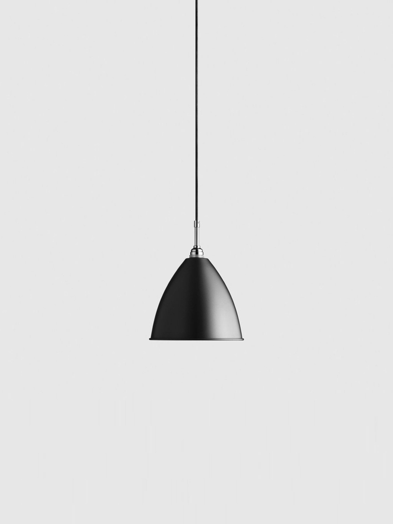 Bestlite BL9 Pendant – Chrome - Black – Medium