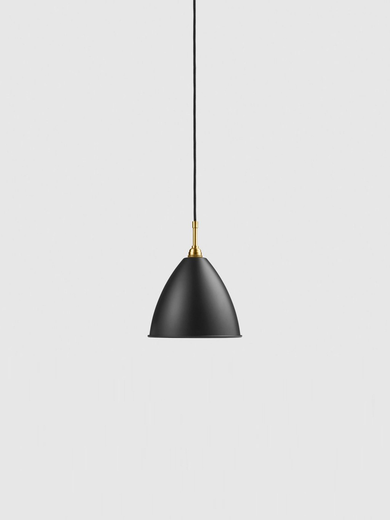 Bestlite BL9 Pendant – Brass Base – Black – Medium