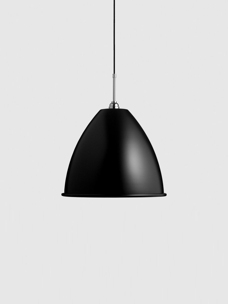 Bestlite BL9 Pendant – Chrome Base – Black – Large