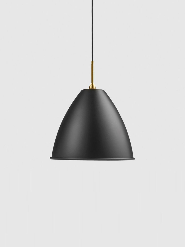 Bestlite BL9 Pendant – Brass Base – Black – Large