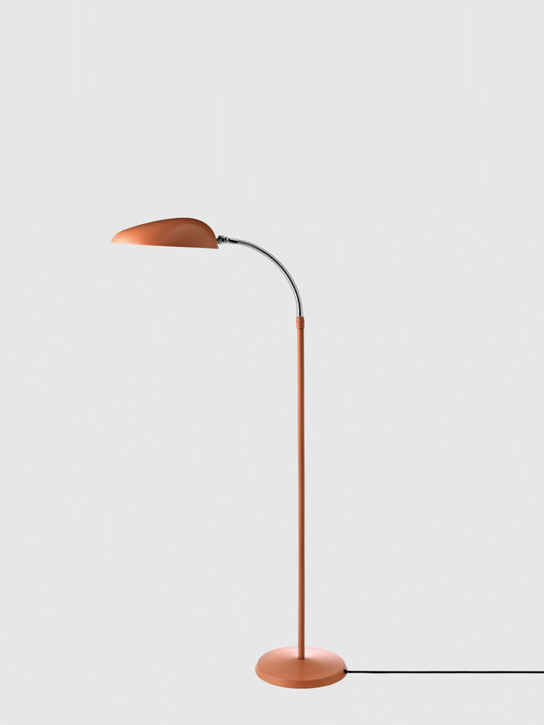 Cobra Floor Lamp – Vintage Red