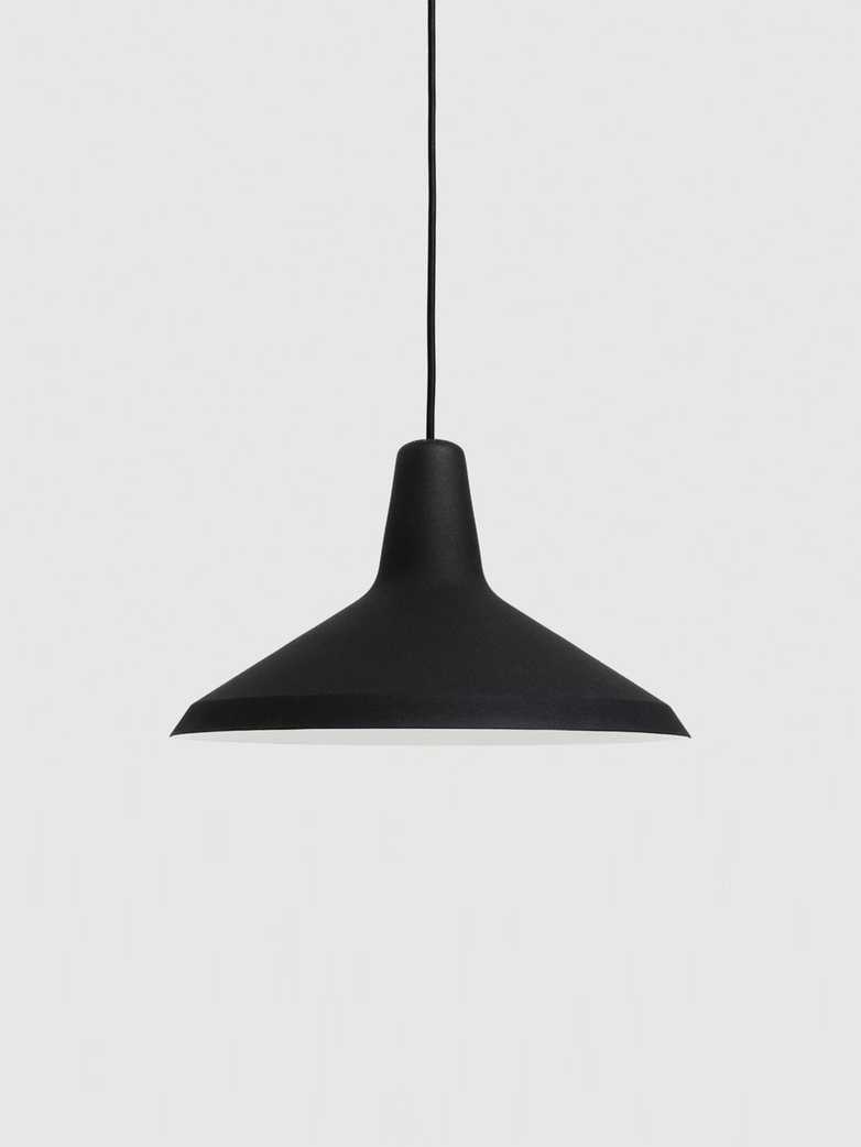 G-10 Pendant – Black Rough