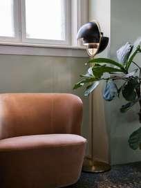 Multi-Lite Floor Lamp – Brass Base – Shiny Brass
