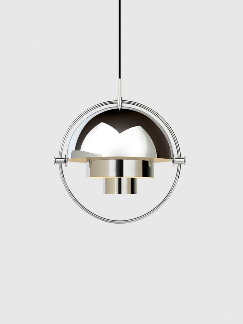 Multi-Lite Pendant – Chrome Base – Chrome Finish
