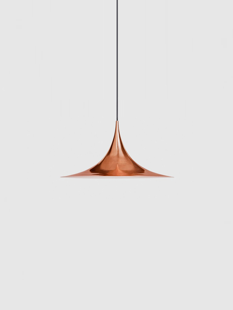 Semi Pendant – Copper Semi Matt – Small