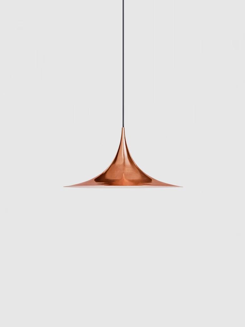 Semi Pendant – Copper Semi Matt – Small