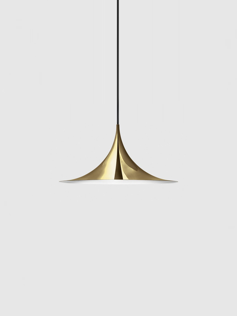 Semi Pendant – Polished Brass Semi Matt – Small