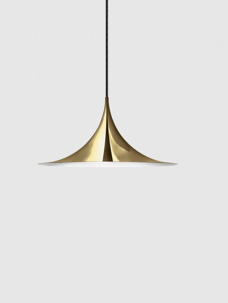 Semi Pendant – Polished Brass – Medium