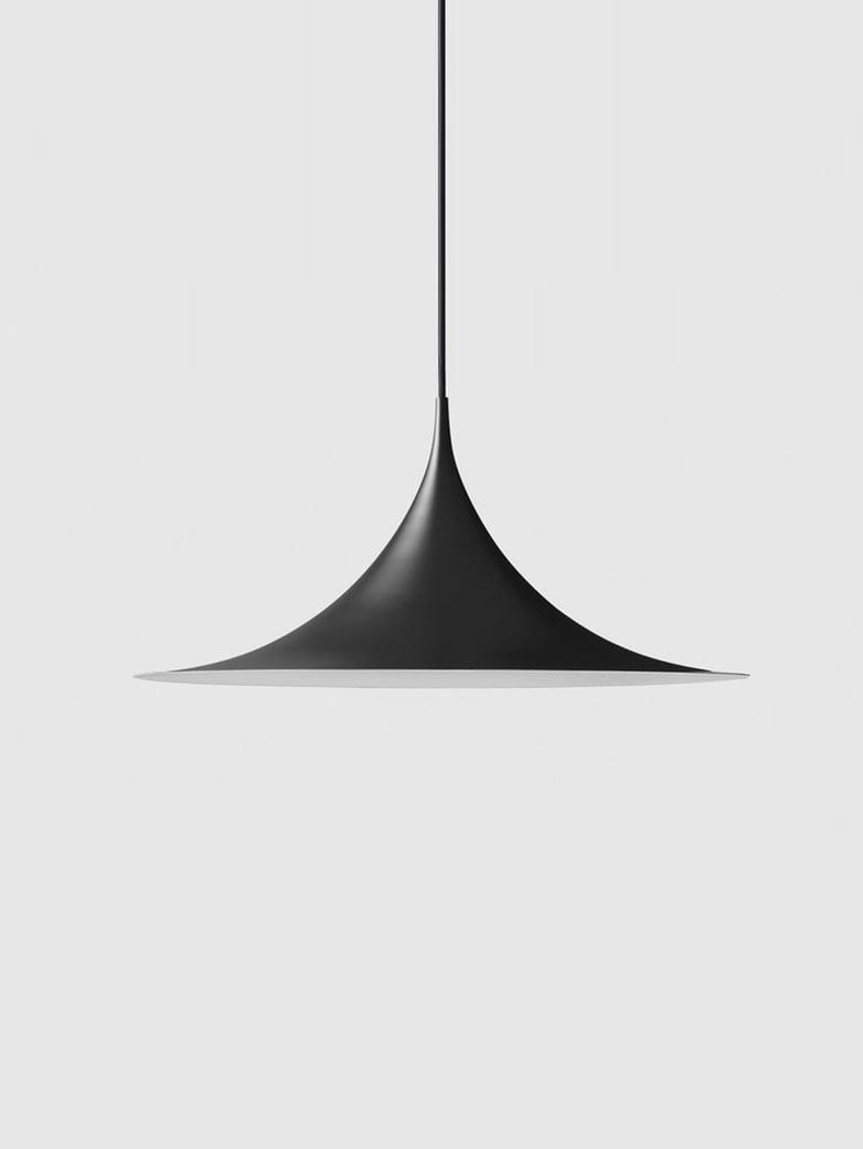 Semi Pendant - Ø60 - Black Semi Matt