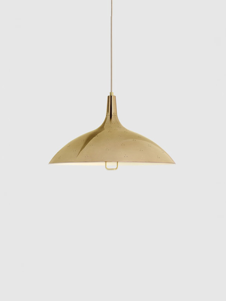 1965 Pendant – Brass Base – Polished Brass