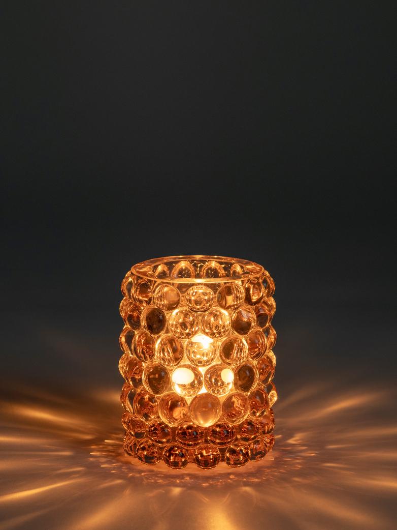 Hurricane Lamp Boule Rosaline